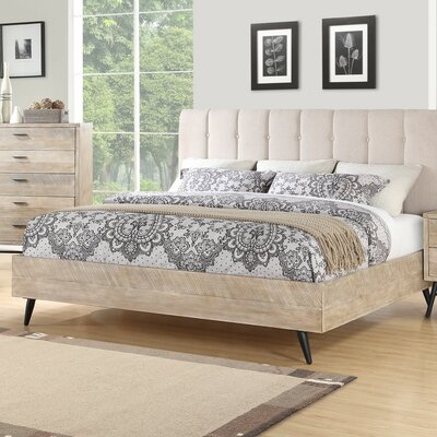 Laquita Upholstered Platform Bed Size: Queen