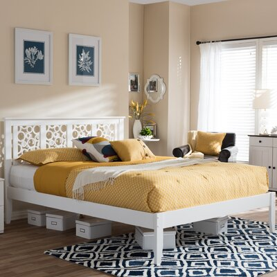 Smidt Platform Bed Size: Queen