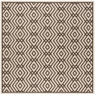 Kallias Gray/Beige Area Rug Rug Size: Square 67