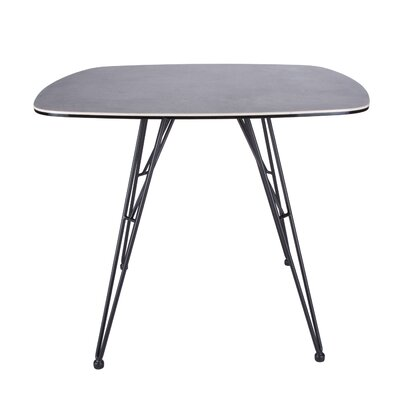 Obryant 36 Dining Table Color: Gray