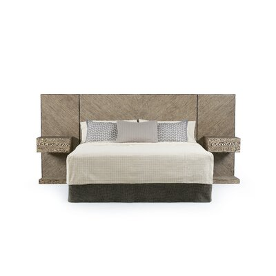 Yasmine Wall Panel Headboard Size: King/California King