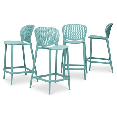 Watertown Counter 25.5 Bar Stool Color: Surfin Blue