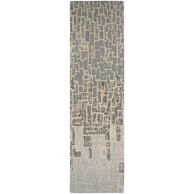 Venuti Rosalyne Hand Woven Beige/Brown Area Rug Rug Size: Runner 22 x 79
