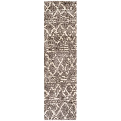 Lopiccolo Brown Area Rug Rug Size: Runner 22 x 71