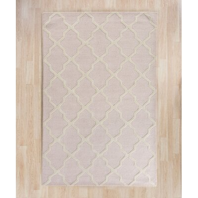 Clifford Light Pink/Ivory Area Rug Rug Size: Rectangle 9 x 12