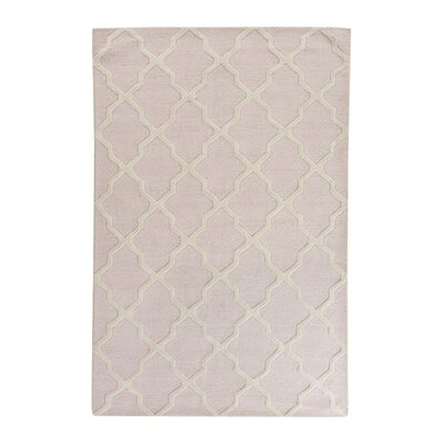 Clifford Light Pink/Ivory Area Rug Rug Size: Rectangle 8 x 10