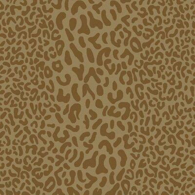 Macias Beige Animal Print Area Rug Rug Size: Square 8