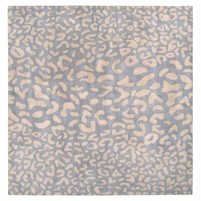 Macias Pale Blue Area Rug Rug Size: Square 99