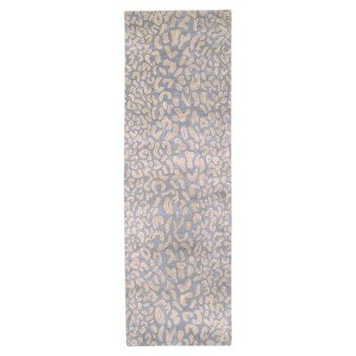Macias Pale Blue Area Rug Rug Size: Runner 3 x 12