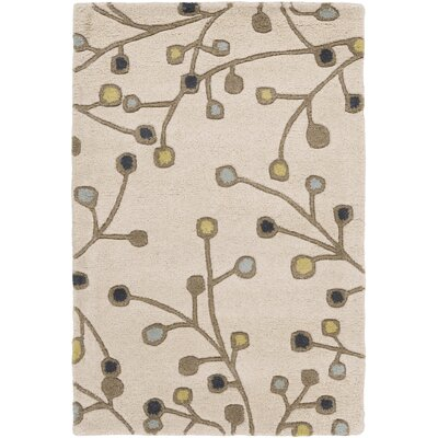 Middlebrooks Ivory Area Rug Rug Size: Square 4