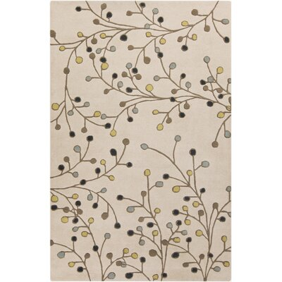 Middlebrooks Ivory Area Rug Rug Size: Rectangle 5 x 8
