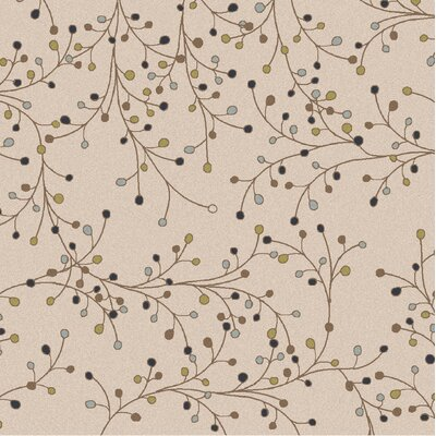 Middlebrooks Ivory Area Rug Rug Size: Square 8