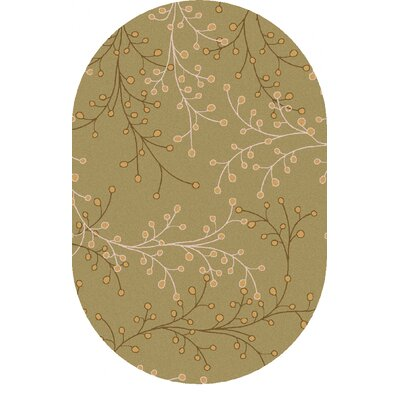Middlebrooks Multi-Colored Area Rug Rug Size: Oval 6 x 9