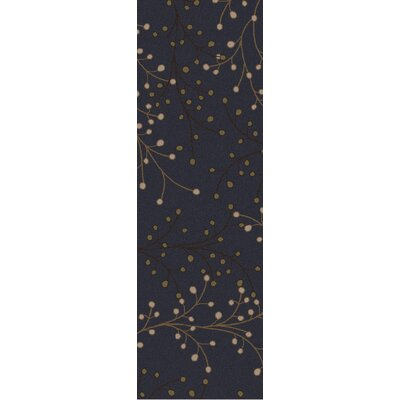 Middlebrooks Black Area Rug Rug Size: Runner 26 x 8