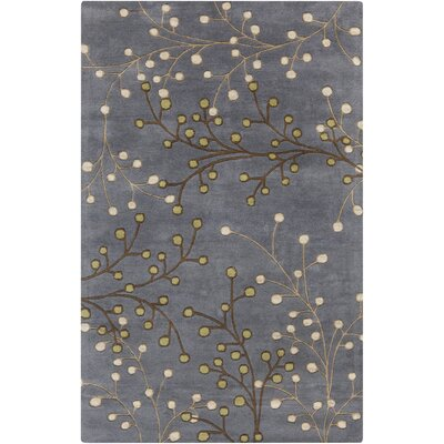Middlebrooks Black Area Rug Rug Size: 5 x 8