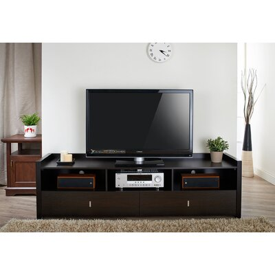 Benton TV Stand Finish: Black