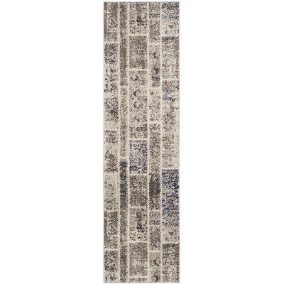 Mercado Beige Area Rug Rug Size: Runner 22 x 8
