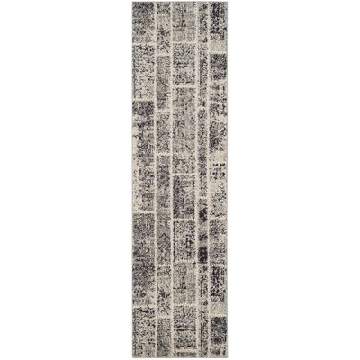 Mercado Gray Area Rug Rug Size: Runner 22 x 8