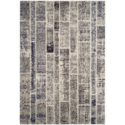 Mercado Gray Area Rug Rug Size: Rectangle 3 x 5