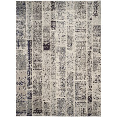 Mercado Gray Area Rug Rug Size: Rectangle 8 x 11