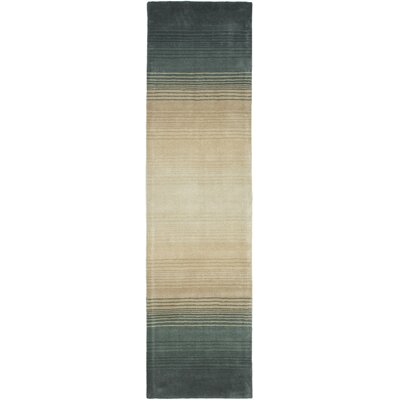 Mcneil Pewter/Gray Area Rug Rug Size: Runner 23 x 8