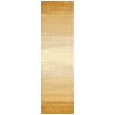 Mcneil Gold Area Rug Rug Size: Rectangle 9 x 12
