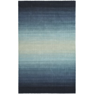 Mcneil Blue Area Rug Rug Size: Rectangle 5 x 8