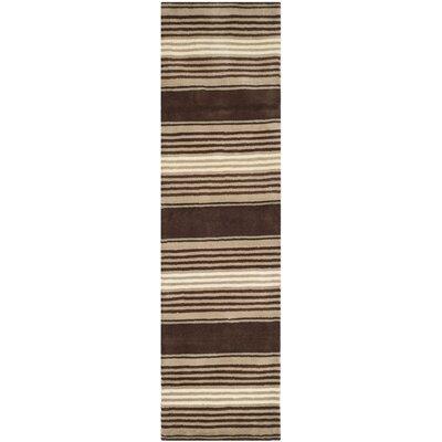 Mcneil Tobacco Leaf Area Rug Rug Size: Runner 23 x 8