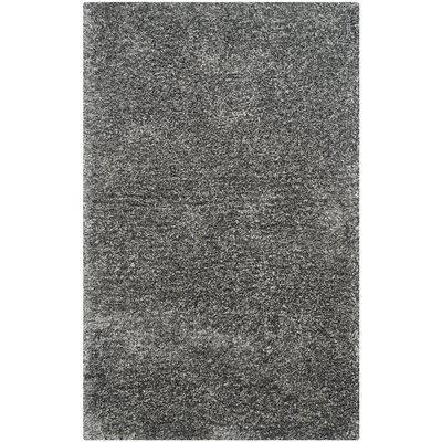 Oconnell Steel Gray Shag Area Rug Rug Size: Rectangle 5 x 8