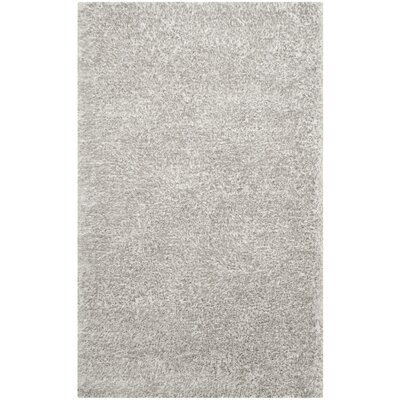 Oconnell Ice Shag Area Rug Rug Size: Rectangle 5 x 8