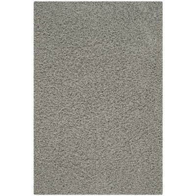 Upland Gray Shag Area Rug Rug Size: Rectangle 5 x 8