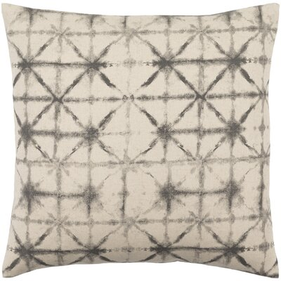 Middleton Throw Pillow Size: 18 H x 18 W x 4 D, Color: Cobalt/Beige