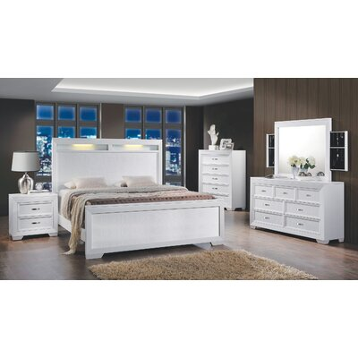 Brannigan Panel Bed Size: King