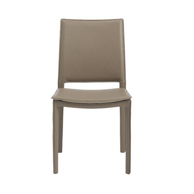 Darrin Side Chair Upholstery: Taupe