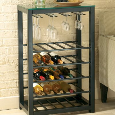 Burman 25 Bottle Floor Wine Rack