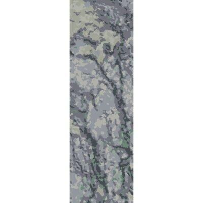 Ayanna Slate/Moss Area Rug Rug Size: Runner 26 x 8