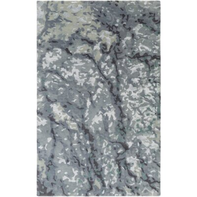 Ayanna Slate/Moss Area Rug Rug Size: Rectangle 4 x 6