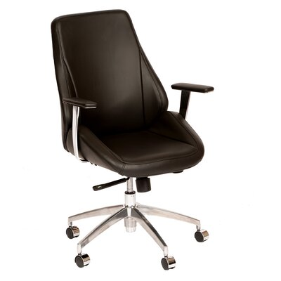 Argo Mid-Back Office Chair Color: Black Product Picture 5839