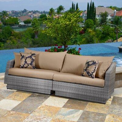 Cannes Sofa Cushions Fabric Delano Beige picture