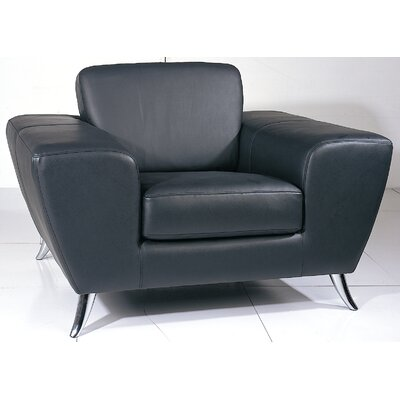 Alonso Armchair Finish: Black