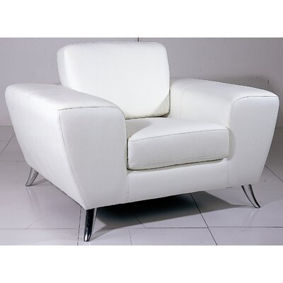 Alonso Armchair Finish: White