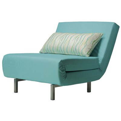 Saltford Convertible Chair Upholstery: Aqua