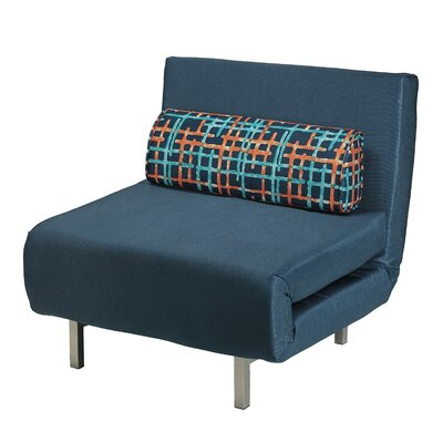 Saltford Convertible Chair Upholstery: Navy