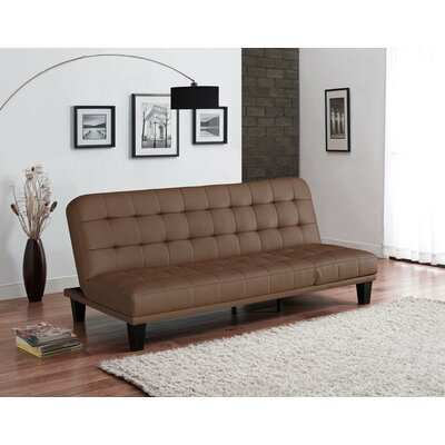 Malone Convertible Sofa Upholstery: Camel