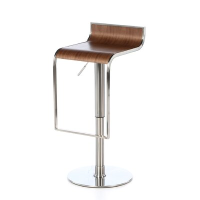 Bannerdown Contemporary Adjustable Height Swivel Bar Stool