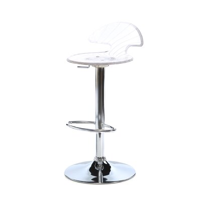 Blaisdell Adjustable Height Swivel Bar Stool
