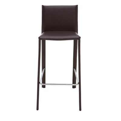 Nehls 25.5 Bar Stool Finish: Brown