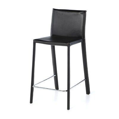 Borba 25.5 Bar Stool Finish: Black