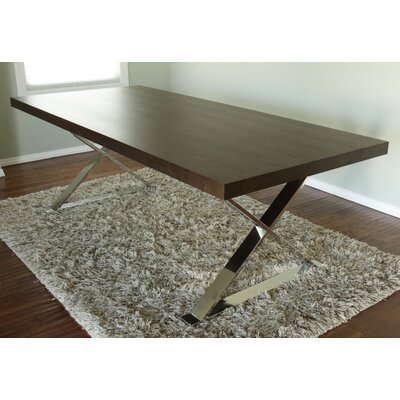 Foweler Dining Table Finish: Espresso