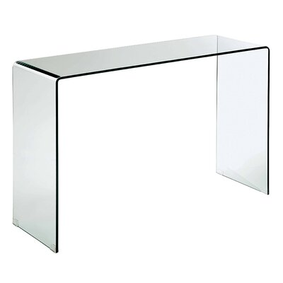 Stephan Contemporary Console Table Finish: Clear